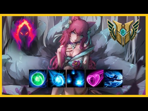 Ahri montage/kill highlights #11   league of legends   Anesydora