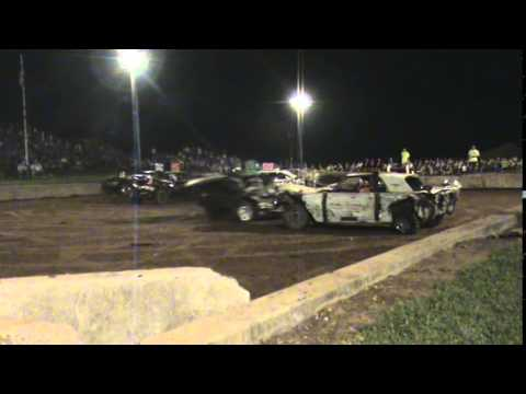 Lebanon Area Fair Demolition Derby Stock Class Championship