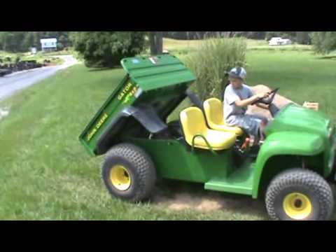 john deere 4x2 gator power dump bed 304 hours very nice for sale - The Dump Mattress Sale
