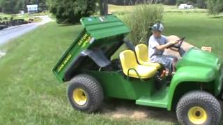John Deere 4X2 Gator Power Dump Bed 304 Hours Very Nice For Sale