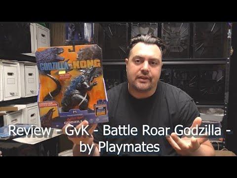 REVIEW - GvK - Battle Roar Godzilla - by Playmates