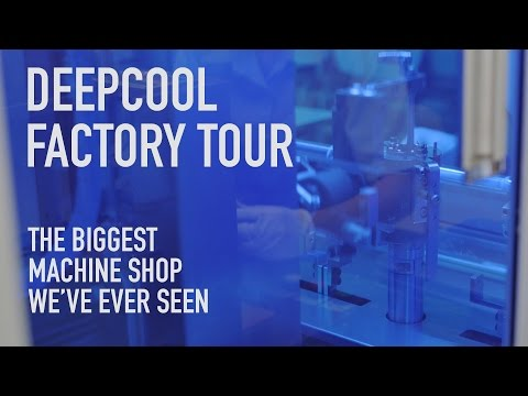 Deepcool Factory Tour: The Biggest Machine Shop You've Ever Seen