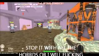 Ragazzo tedesco arrabbiato interpreta Roblox merluzzo zombie (falloutboy212) #3