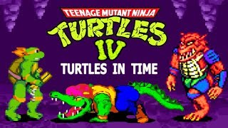 Teenage Mutant Ninja Turtles 4: Turtles In Time прохождение (Super Nintendo / SNES)