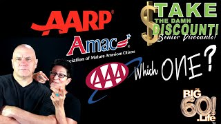 AMAC vs AARP – vs AAA! Which is best? Let's compare!