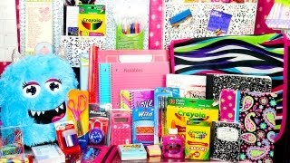 HUGE Back To School Giveaway! Over 100 Pieces of School Supplies! (Closed)