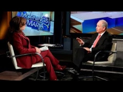 Blackstone Group CEO on how financial firms can become successful