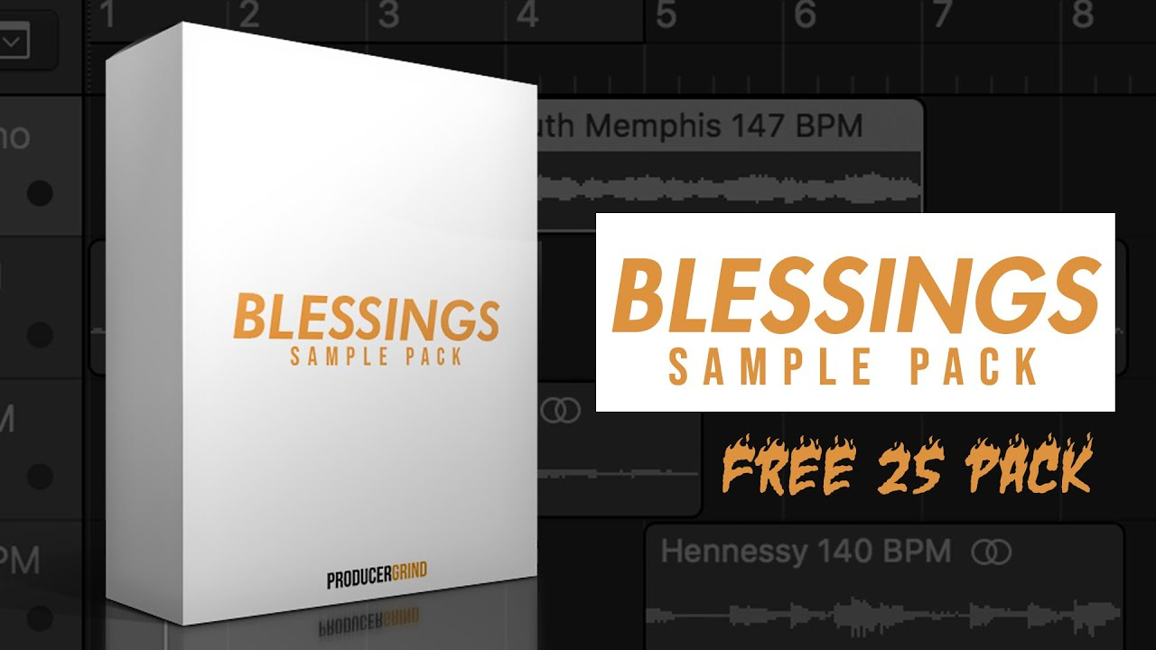 FREE Blessings Sample Pack (25 Multi-Layer Melody Loops) [2019 NEW SAUCE]