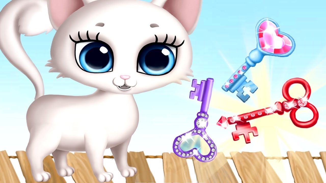 Kitty Meow Meow Fun Kitten Pet Care Kids Game - My Cute Cat Day Care Fun Leaning Games For Children