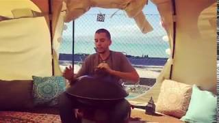 Filippo Pigaiani - Handpan improvisation in a beautiful place