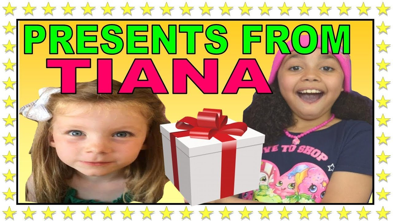 Tiana From Toys And Me Sent Us Presents Thanks Guys Your