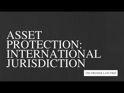 Asset Protection Webinar - International Jurisdictions