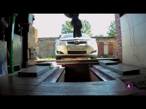 Замена масла в МКПП Toyota Auris 2008