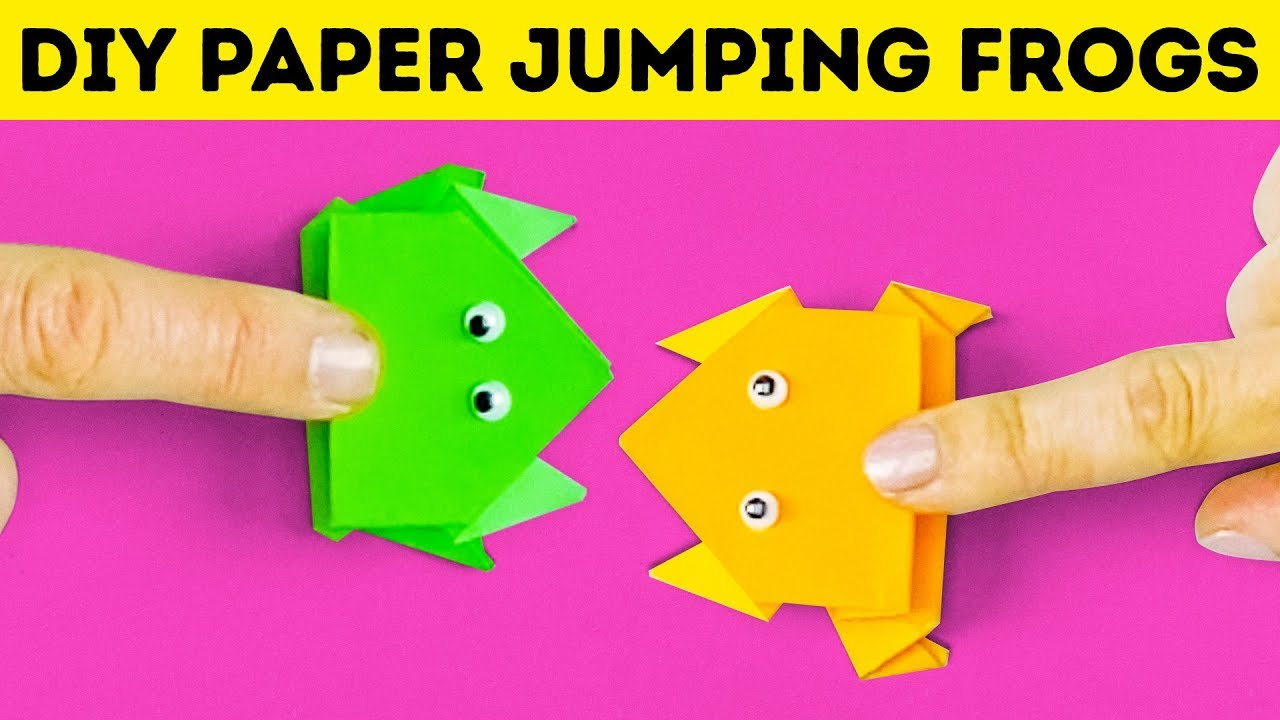 10 Simple And Fun Paper Ideas Youtube