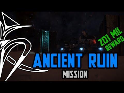 Decoding Ancient Ruins mission - NERFED REWARD to 111 mil  [Elite Dangerous]