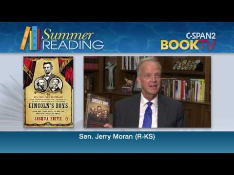 What is Sen. Jerry Moran (R-KS) reading this summer?