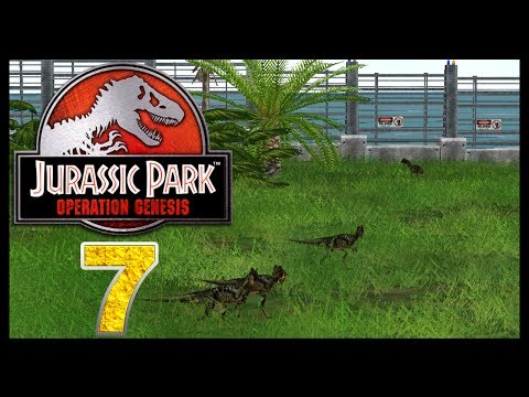 Jurassic Park: Operation Genesis - Episode 7 - Deadly Dinos!