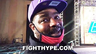 "CRAWFORD TRAINER BOMAC SENDS SHAWN PORTER ""LET'S GO"" MESSAGE; ANALYZES ""DIFFERENT THAN SPENCE"" CLASH"