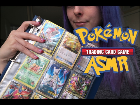 Pokemon TCG Collection Rares & Decks! Soft-Spoken ASMR with Card Shuffling Noises