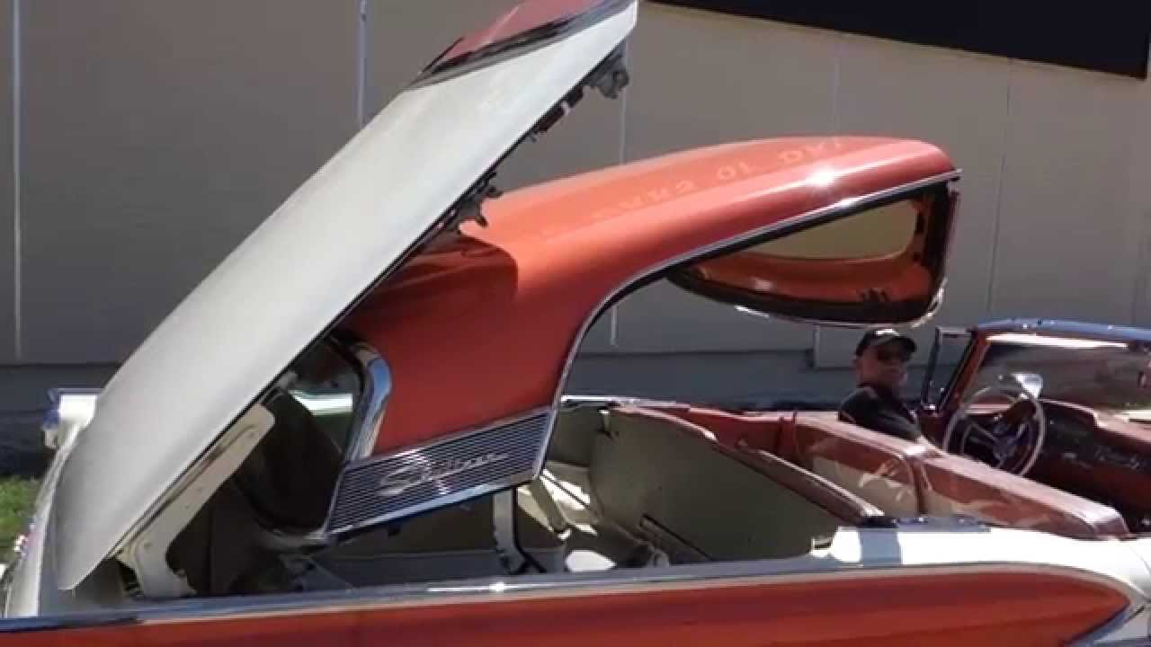 1959 Ford Fairlane Galaxie Skyliner Retractable Hardtop