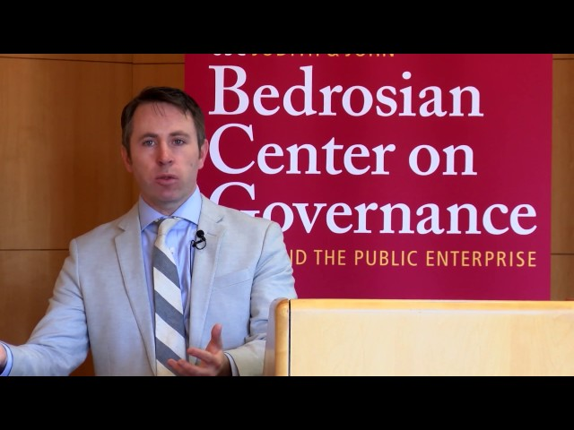 Hassles or Help? Compliance, Learning and Psychological Costs in the Administrative State. Donald Moynihan, director and professor, La Follette School of Public Affairs at University of Wisconsin-Madison, previews his new book