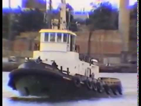 Tugs on Sydney Harbour Circa Early 90s
