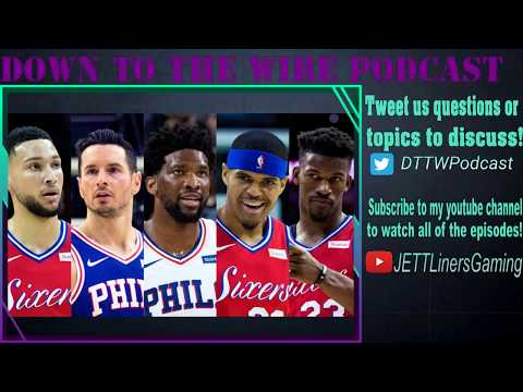 Down To The Wire Podcast Ep 4! NFL, NBA, Apex legends and more!