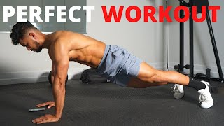 The PERFECT At Home TOTAL Body Workout (Based on Science)