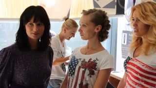 Обучение плетению кос в школе парикмахерского искусства Елены Диденко