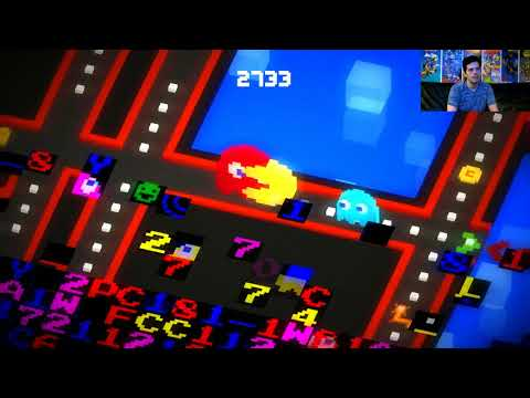 Pac-Man 256 (PC) Mike Matei Live