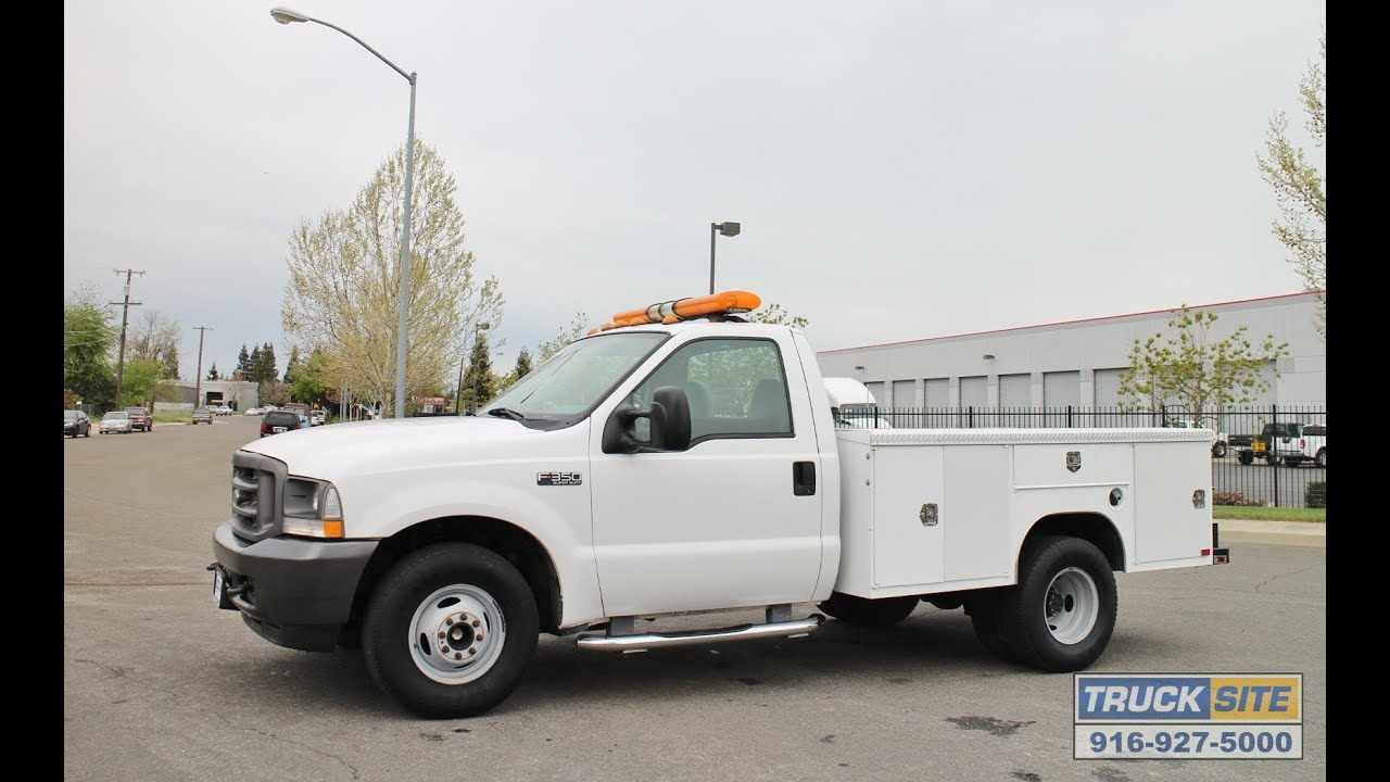 2014 ford f 350 truck xl - 2003 Ford F350 Xl Super Duty 9 Utility Truck For Sale By Truck Site