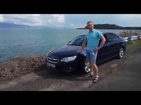 Subaru Legacy 2006: с видом на оз.Севан