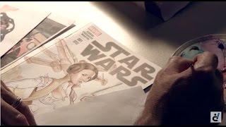 digital media arts college faculty spotlight comic book illustrator mark sparacio