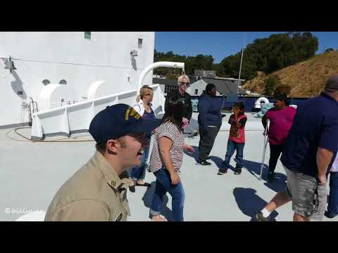 Vallejo Together visited Cal Maritime ship the golden bear 9-23-2017