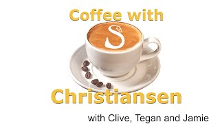 Coffee with Christiansen - episode one - supporting the RDA Emergency Fund Appeal