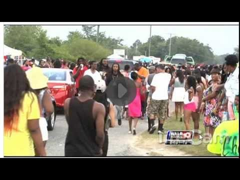 WALB reporting on The Block Party in Camilla, GA