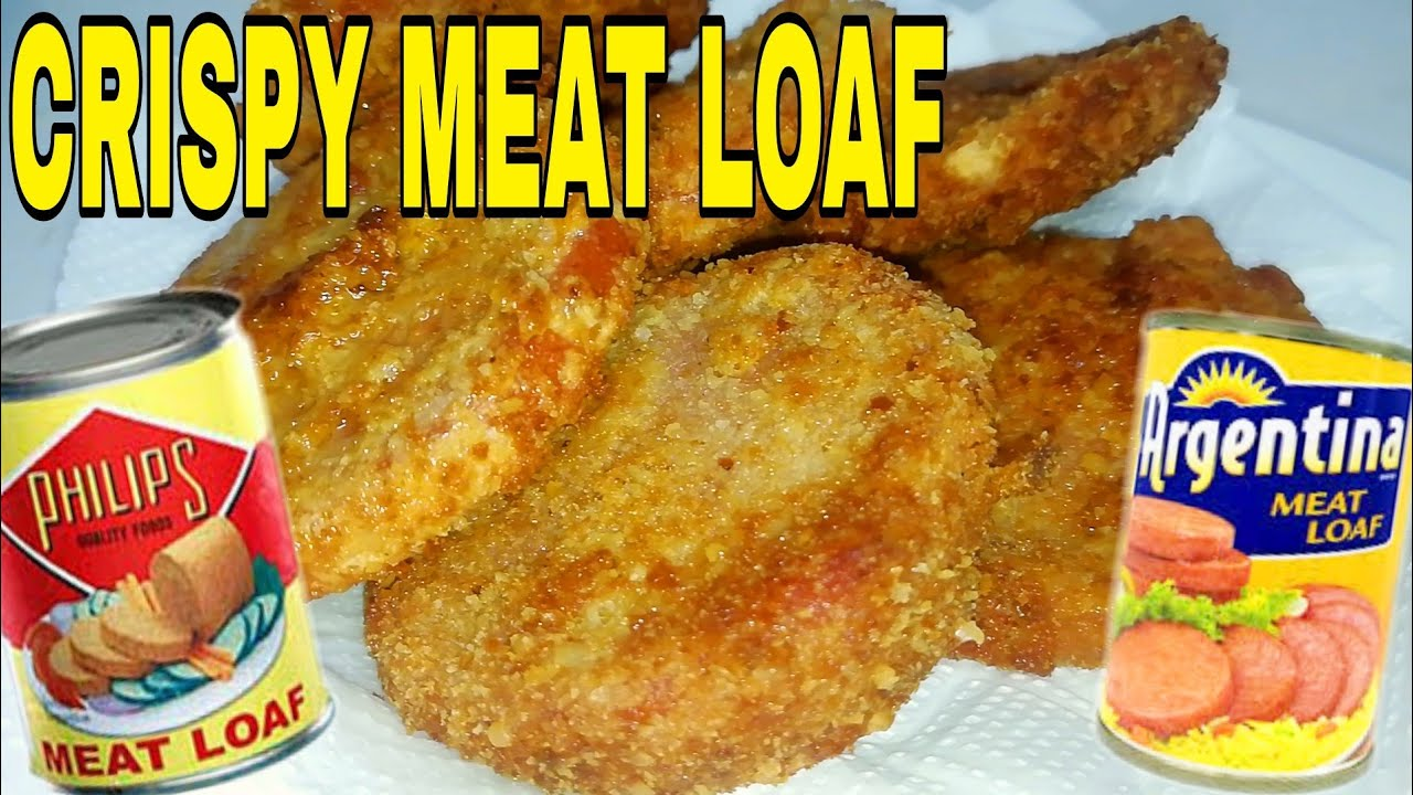 How to make Breaded Crispy Meat Loaf in Can | Easy and Simple Recipe