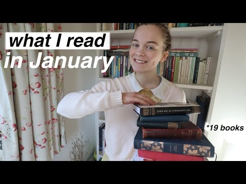 The 19 Books I Read in January (including classics)