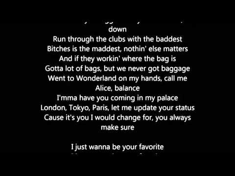 Nicki Minaj - Favorite (Feat Jeremih) lyrics