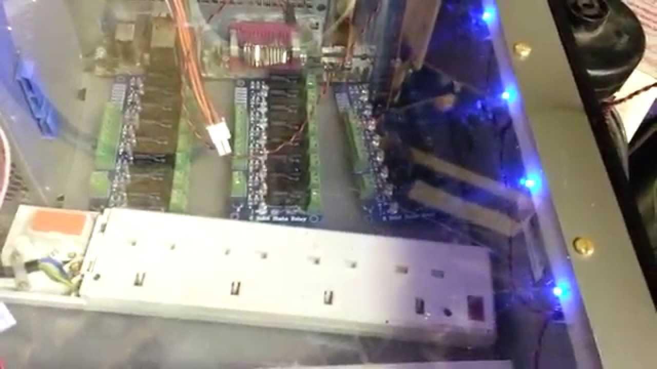 Diy Arduino Christmas Light Controller Using Vixen Lighting Software Youtube