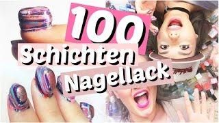 100 Schichten Nagellack!! WTF? | ViktoriaSarina