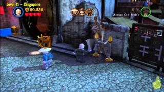 Lego Pirates of the Caribbean: Level 11 Singapore - Story Walkthrough - HTG