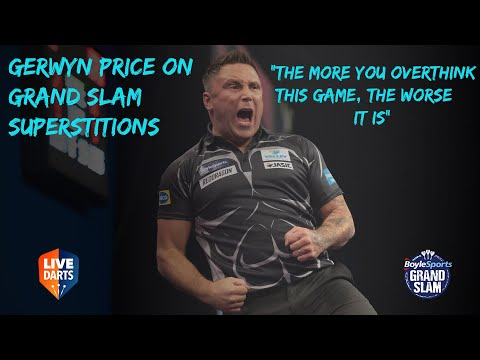 "Gerwyn Price on Grand Slam superstitions: ""The more you overthink this game, the worse it is"""