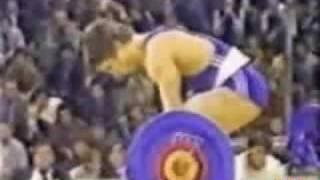 17y Naim Suleymanoglu,1984 World Cup,Sarajevo (WR)