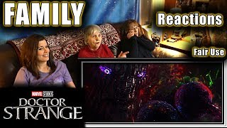 DOCTOR STRANGE | FAMILY Reactions | Fair Use