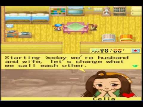 Harvest Moon DS: Married to Celia