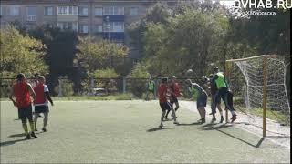 Глухие футболисты сразились со слышащими в рамках матча в Комсомольске