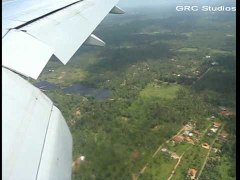 Mariazelle - Sri Lanka (Approach & Landing at CMB/VCBI) Emirates 777-300