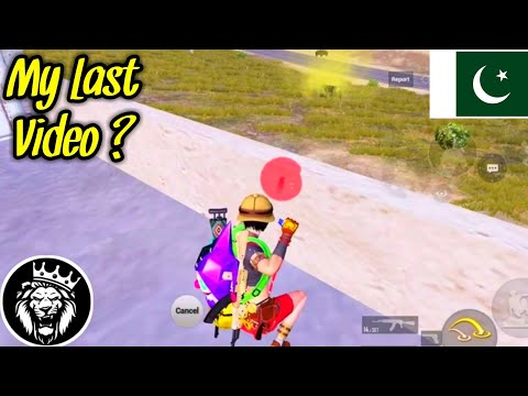 My Last Video ? / Star ANONYMOUS / Pubg Mobile