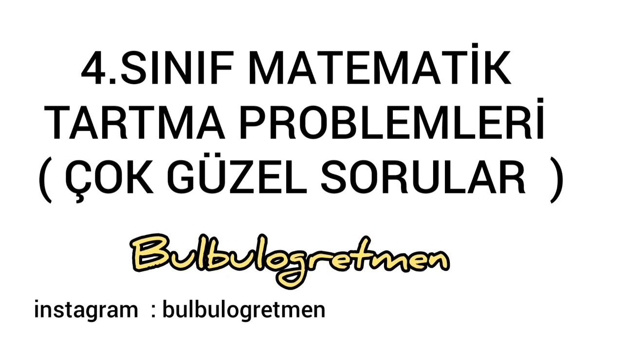 4 sınıf tartma konu anlatımı, dönüşümler ve problemler #bulbulogretmen #matematik